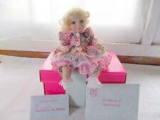 Marie Osmond Daisy Tiny Tots Doll COA + Doll Necklace