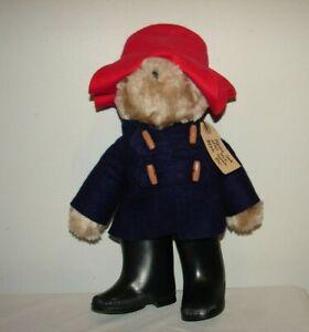 "Paddington Bear ""Darkest Peru to London"" - Vintage 1975 1981 Tag - 12"" Eden Toy"