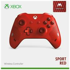 Genuine Microsoft Xbox One Wireless Controller - Sport Red Special Edition VG