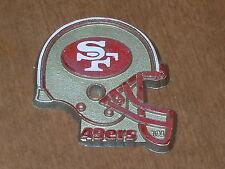 SAN FRANCISCO 49ERS Vintage NFL RUBBER Football FRIDGE MAGNET Standings Board