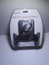 New Memorex Portable Cassette Player with AMFM Radio And Headphones Box Damage