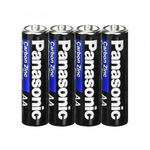 Lot de 40 Piles AA LR6 - PANASONIC - 0% Mercure - Zinc Carbon très longue durée