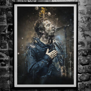 Liam Gallagher Poster - Oasis Wall Art Print