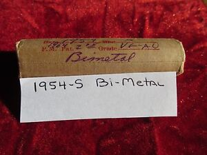 1954 S Lincoln Cent Roll Error coins Bi-metal Variety 50 Circulated Cents