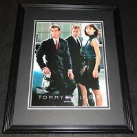 Vintage Tommy Hilfiger Clothing Framed 11x14 ORIGINAL Advertisement