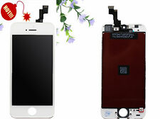 White Front Panel LCD Display+Touch Digitizer Screen Assembly for Iphone 5S