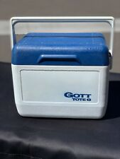 Gott Tote 6 Retro Vintage Personal Cooler Ice Chest Model 1806 NO Ice Bottle T4