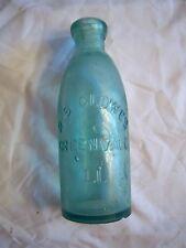D.S. CLOWES, GREENVALE,LI.Albertson's Stopper bottle