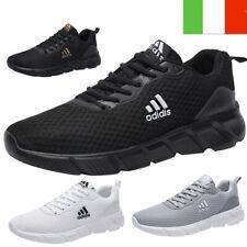 Scarpe Uomo Sneaker Sportive Da Ginnastica Tennis Running Corsa Palestra Donna