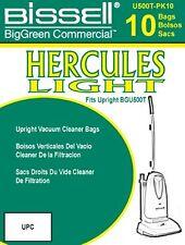 BISSELL BigGreen Hercules Light Upright Vacuum Bags Volume Capacity 1.2