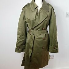 Unisex Vintage Cargo Army Jacket Coat LARGE