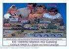 EE 1989/90 E-I Marklin HO Catalog Years 1989 1990 Entire Family Railroading New