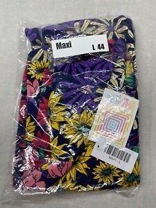 LuLaRoe Maxi Skirt Size Large 44 Slinky