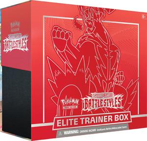 Pokémon - Battle Styles Sword & Shield 5.0 - Elite Trainer Box ETB EN NEU & OVP