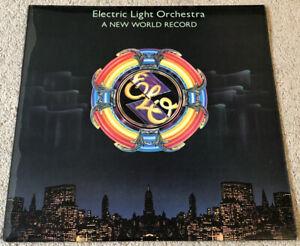 Electric Light Orchestra ELO - A New World Record LP JETLP 200 A5 / B2 - 1976