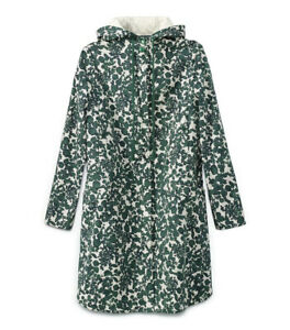 Tory Burch Womens Green Shelley Hooded Coat Vine Issy