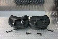 Harley Softail FXSTB Night Train Packtaschen Leder 88238-07 Schnellverschluß