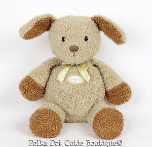 Prestige Toy Baby Tan Brown Barking Puppy Dog Stuffed Plush Toy