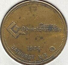 1984 ~ BATHURST, N.B. ~ FREE PARKING TOKEN ~ SCARCE Token