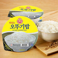 Precooked Rice Instant Rice Ottogi Rice Microwave Cook Korean Food 210g 1 unit