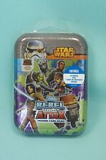 Topps Star Wars Rebel Attax Mini Tin Box  OVP  24 Karten + Limitierte Auflage