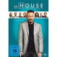 DR.HOUSE SEASON 6 - 6 DVD NEUWARE HUGH LAURIE,LISA EDELSTEIN,OMAR EPPS