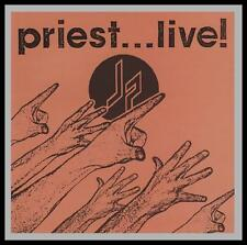 JUDAS PRIEST (2 CD) PRIEST... LIVE! D/Remaster CD w/BONUS Trax ~ 70's/80's *NEW*