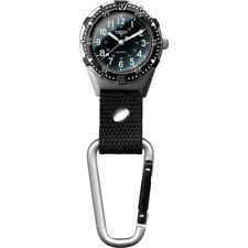 Dakota Watch Company Aluminum Backpacker Clip-On Watch - Black