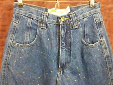 Best American Clothing Co. Women's Jeans Glitteratzi Size 3/4 X 31 Bejeweled  P1