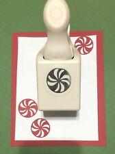 RARE!!! Martha Stewart PEPPERMINT Punch Christmas Candy Holidays Scrapbook