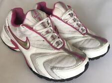 Nike Mujeres Air Chorro Iv Zapatillas Correr-UK 7 EU 41-Pink & White-Gimnasio