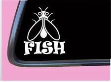 "Flyfishing Fly TP 664 vinyl 6"" Decal Sticker rod line waders hooks fishing"