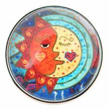 Button Click Druckknopf Kunst Sonne & Mond 0204 - kompatibel mit Chunk Armband