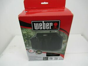 Weber 7131 Genesis II Grill Cover Black Heavy duty Fabric Water and UV resistant