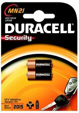 BATTERIA SECURITY MN21 DURACELL  (26619)
