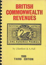 British Commonwealth Revenues, by J. Barefoot & A. Hall. 1986 edition, used.