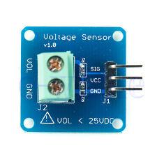 DC Voltage Sensor Module Voltage Detector Divider for Arduino TW