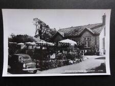 Devon: BUCKFAST DOVECOTE CAFE Ford Anglia c1950's RP Pub by K.E.Ruth, Ashburton