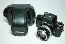 Nikon F2 + Nikkor S 1.4 50mm + Tasche   ff-shop24