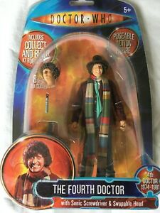 Doctor Who the Fourth Doctor collect and build action figure.