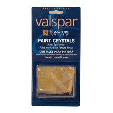 Valspar Signature Gold Paint Crystals - Glitter Paint Sparkle