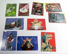 1992 BATMAN RETURNS Trading Cards, DINOSAURS TV Show, Space Rockets LOT of  10