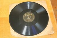 "The Starlighters 78 Capitol 10"" Record More Beer / In one Ear Out The Other 1948"