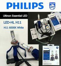 Genuine PHILIPS LED-HL H11 6000K Ultinon Essential LED Car Light Bulb x 2 #ew66