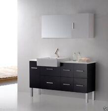 """Bathroom Vanity - Modern Bathroom Vanity Set -Single Sink Loza II Vanity Set 55"""""""