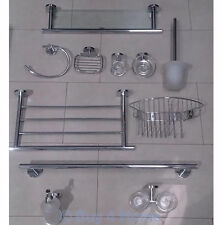 Buy Stainless Steel Bath Accessory Sets With Toilet Roll Holders EBay - Brushed stainless steel bathroom accessories