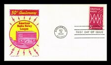 DR JIM STAMPS US COVER AMATEUR RADIO 50TH ANNIVERSARY FDC KEN BOLL CACHET CRAFT