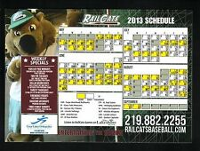 2013 Gary Southshore Railcats Magnet Schedule