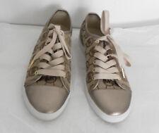 NWT Michael Kors MK City Sneaker Monogram Jacquard Sneaker Shoes Size 8