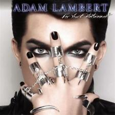 Adam Lambert For Your Entertainment 5 Extra tracks CD NEW